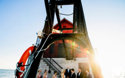 Tim + Abby // Grand Haven Pier Wedding