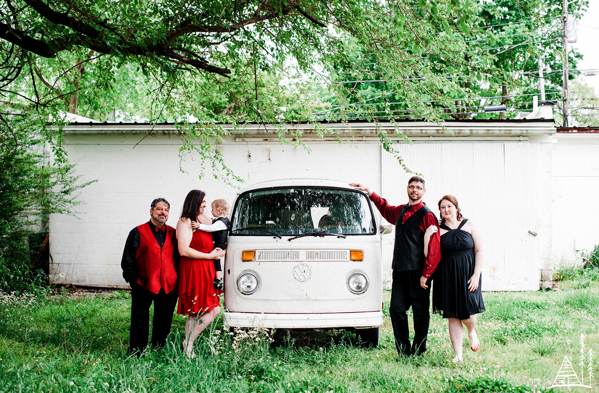 Wayne + Tim / Kentucky Vintage Shop Wedding - Kendra Stanley Mills Photography
