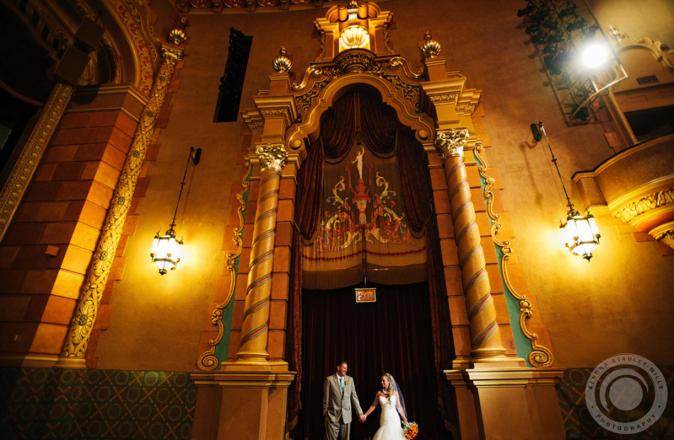 Drew + Ashley // Frauenthal Theatre Wedding