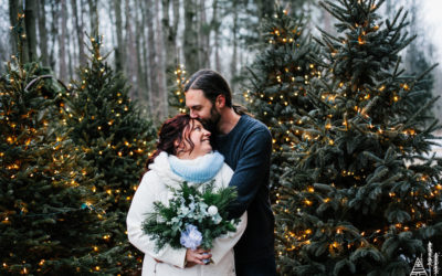 Rich + Katie // Montague Tree Farm Wedding