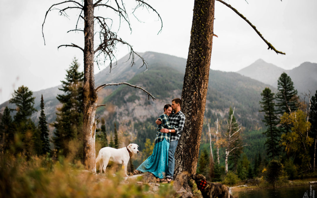 Greg + Sally // Rustic Mountain Montana Wedding