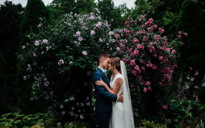 Jakob + Jessica // Weller's Carriage House Garden Wedding